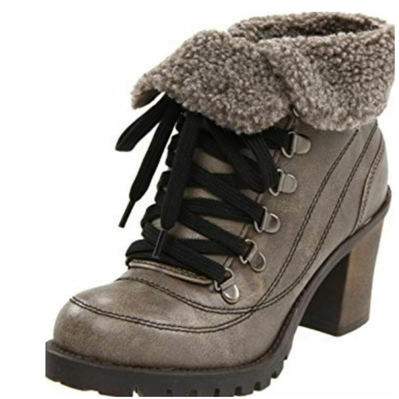 Jellypop Shoes - JellyPop Size 6.5 Leal Ankle Boots Booties Heels